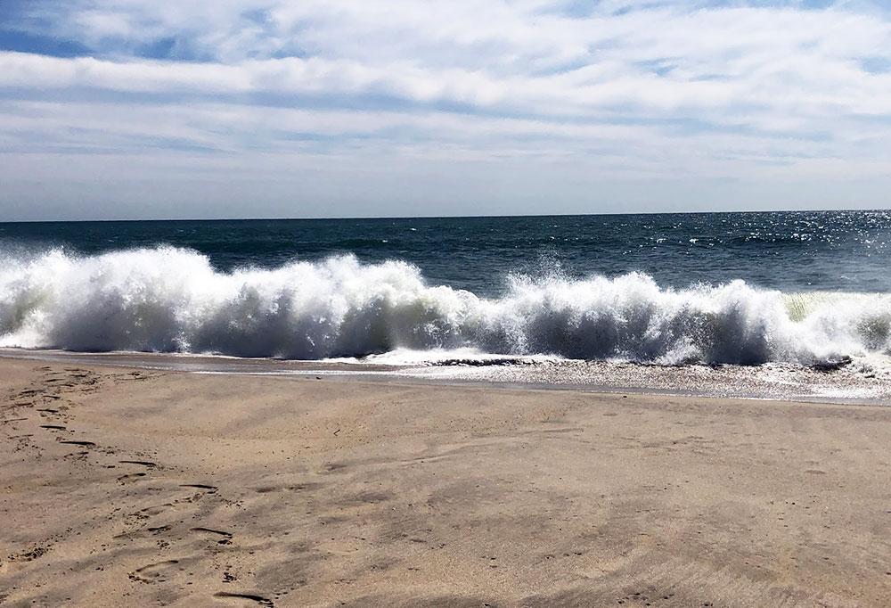 Beach Waves   Nantucket, MA