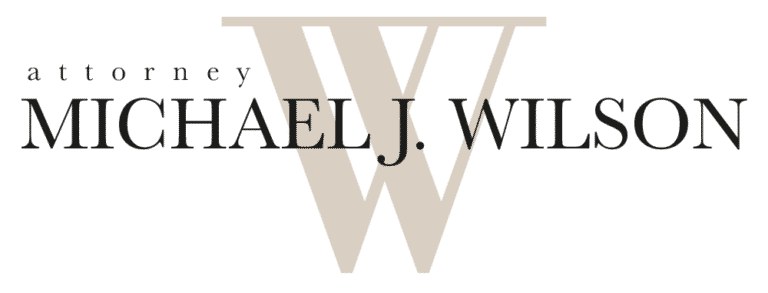 Michael J Wilson Law Logo 880w 768x293