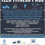 Teen Fitness Pass | Nantucket, MA